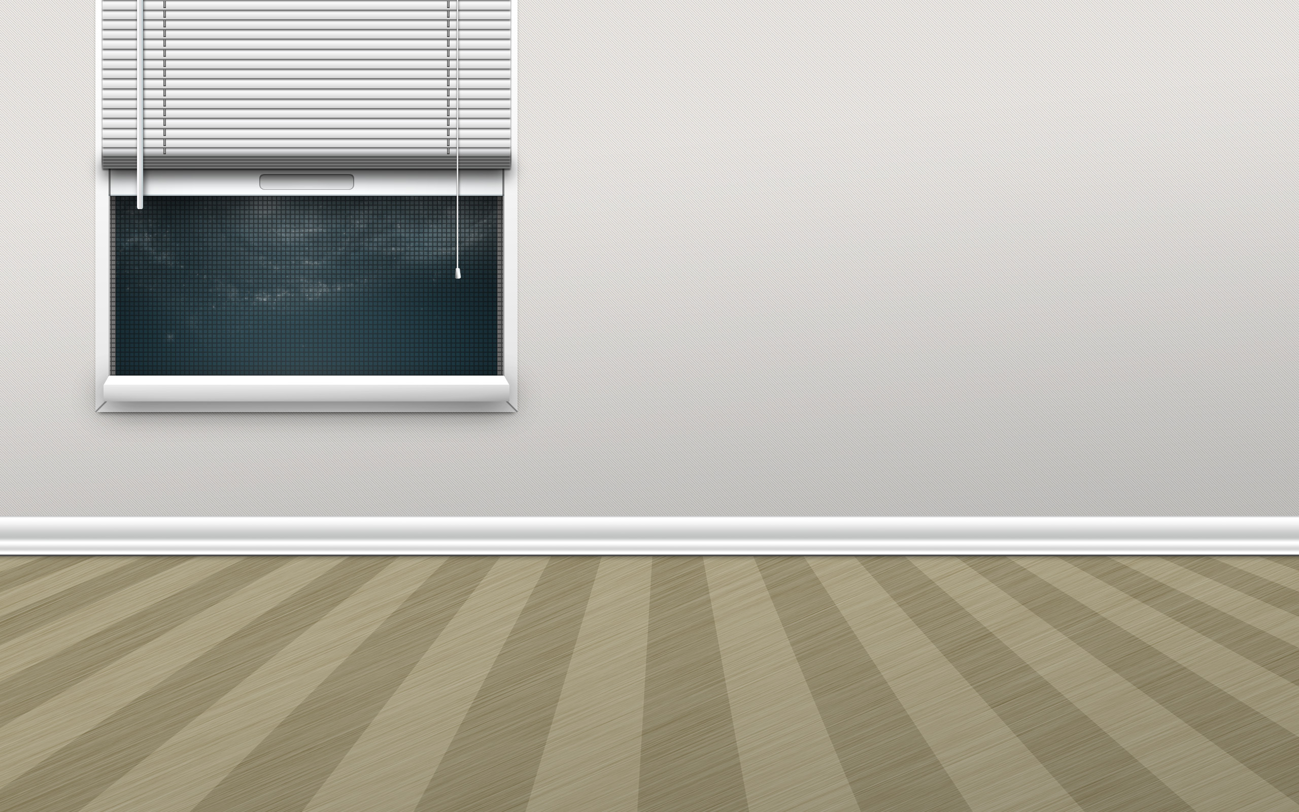 Room Wall Picture Music Wall Room Window Rendering Wallpaper